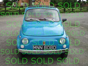 1966 Fiat 500 For Sale