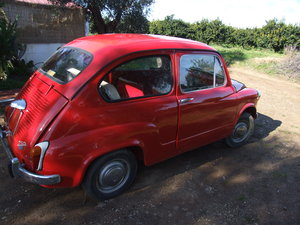 Lovely condition 1960 Fiat 600D Fanalone For Sale