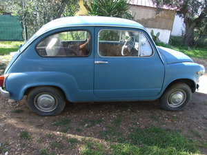 1967 Solid & Genuine Fiat 600D Fanalone For Sale