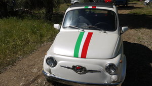 """1965 Upgraded 650cc Fiat 500F """"Gianinni Tribute"""" For Sale"""