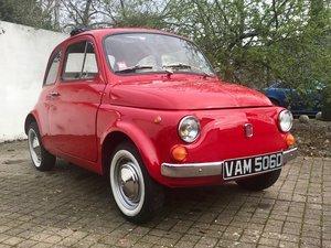 1966 Fiat 500 nuova For Sale