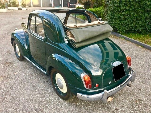 1953 Fiat - 500 C Topolino Trasformabile For Sale (picture 2 of 6)