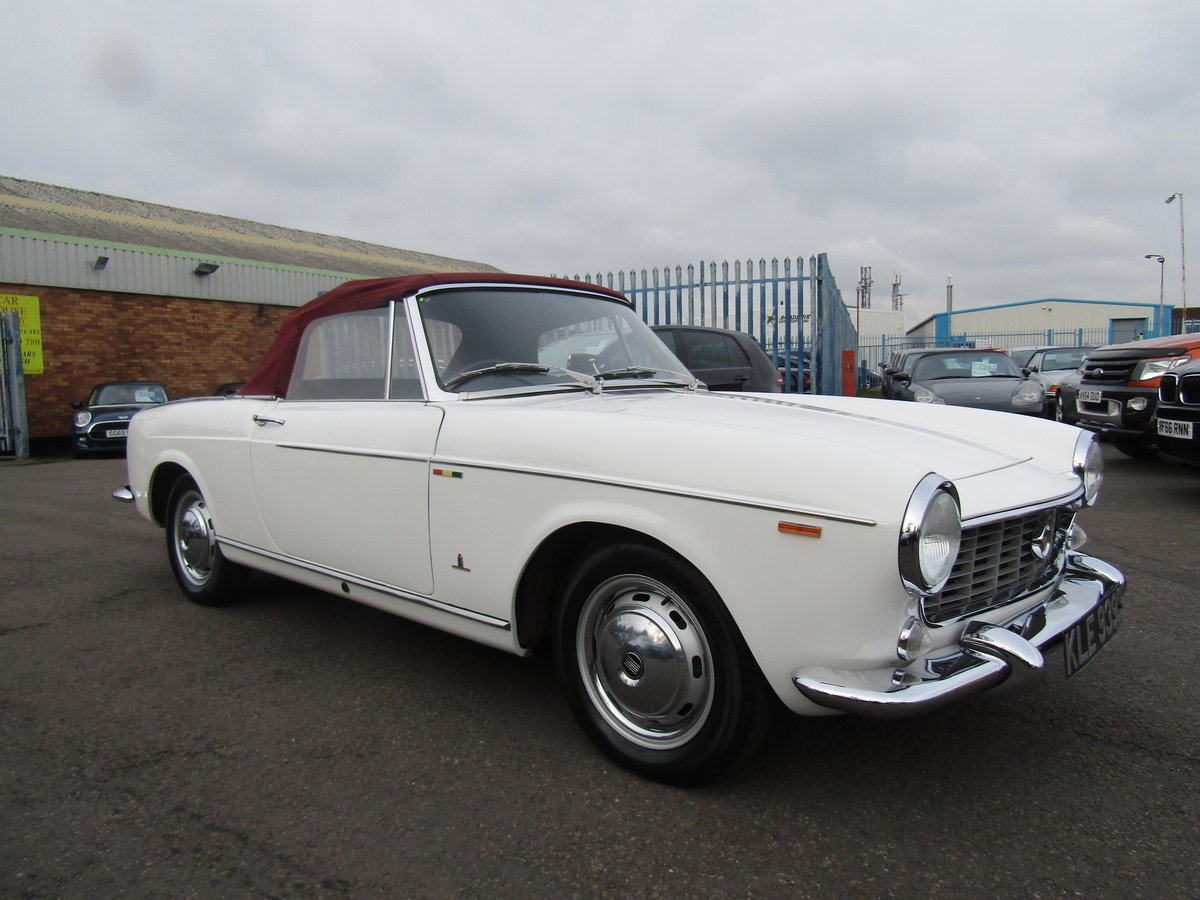 1966 FIAT 1500 CABRIOLET IMMACULATE For Sale (picture 1 of 6)