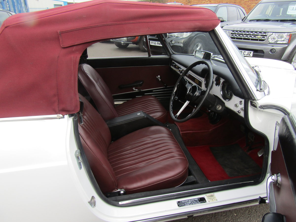 1966 FIAT 1500 CABRIOLET IMMACULATE For Sale (picture 2 of 6)