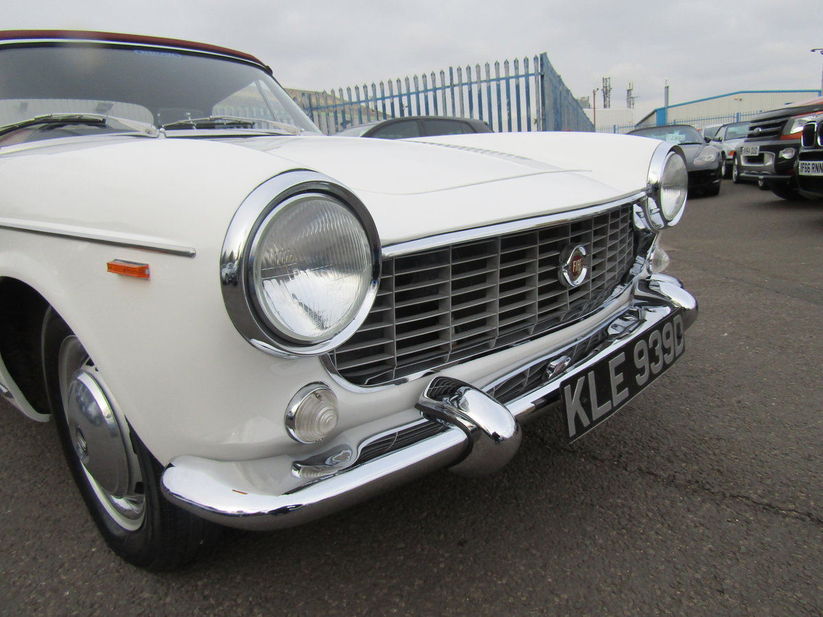 1966 FIAT 1500 CABRIOLET IMMACULATE For Sale (picture 3 of 6)