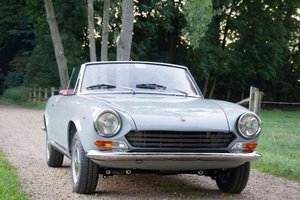 1967 Fiat 124 Spider: 13 Apr 2019 For Sale by Auction