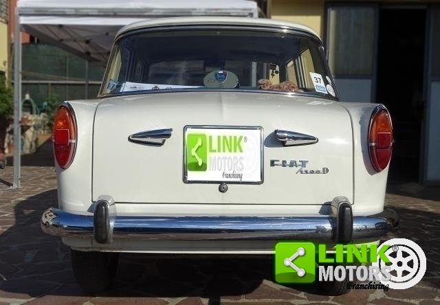 1963 Fiat 1100 D Berlina CONSERVATA For Sale (picture 5 of 6)