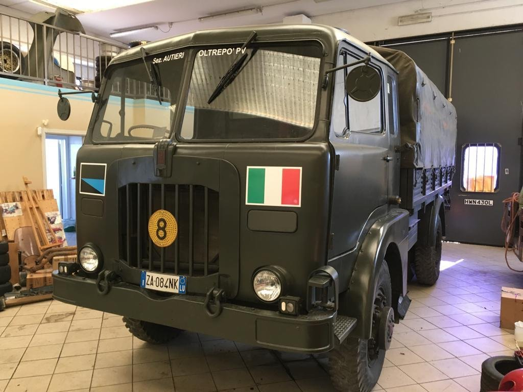 1973 fiat cm52 4x4 military For Sale (picture 1 of 4)