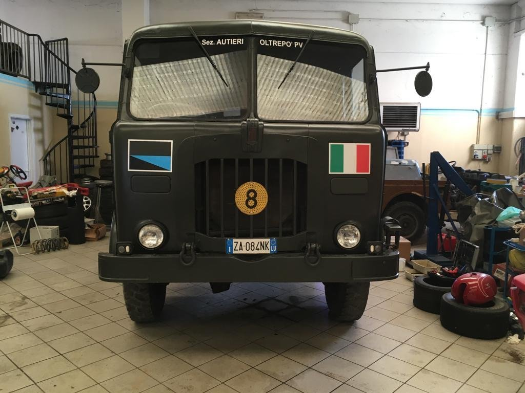 1973 fiat cm52 4x4 military For Sale (picture 3 of 4)