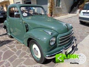 Fiat 500C Topolino, immatricolata nel 1954, completamente r