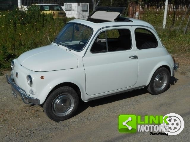 1970 Fiat 500 L Targhe nere For Sale (picture 1 of 6)