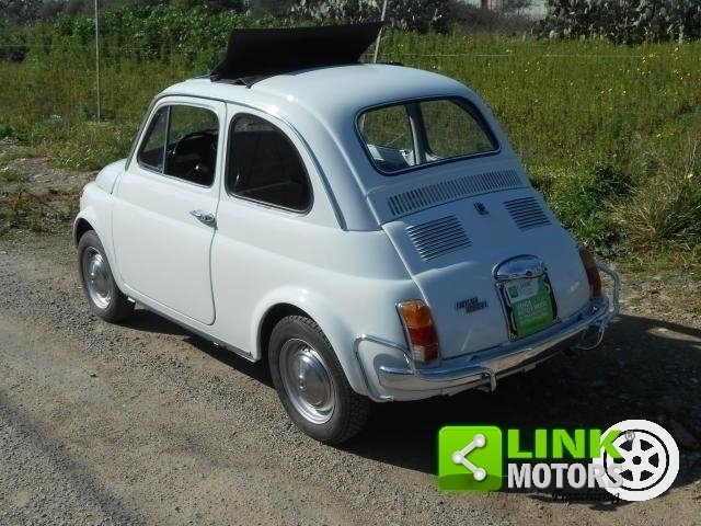 1970 Fiat 500 L Targhe nere For Sale (picture 2 of 6)