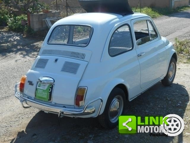 1970 Fiat 500 L Targhe nere For Sale (picture 6 of 6)