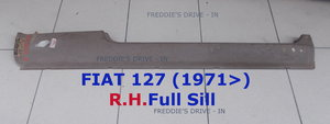 Full Door Sill _ R.H._ (Original Part) For Sale
