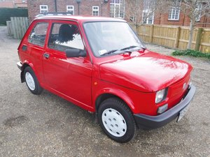 **REMAINS AVAILABLE**1997 Fiat 126 SOLD by Auction