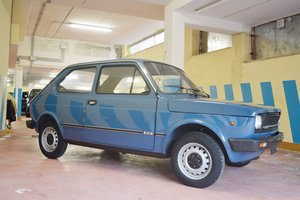 1981 Fiat 127 – Offered at No Reserve: 13 Apr 2019 For Sale by Auction