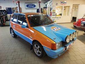 Fiat Uno Turbo i.e FIA Group A Historic Rally Car.