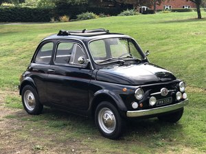 1971 FIAT 500L.  A VERY NICE SMART LITTLE FIAT. Tel. 07971844050. SOLD