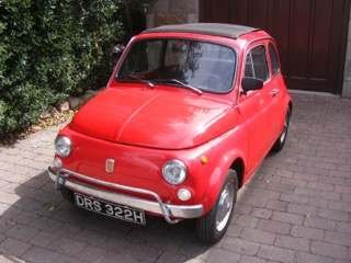 1970 Fiat 500 LHD at Morris Leslie Classic Auction 17th August For Sale by Auction (picture 1 of 6)