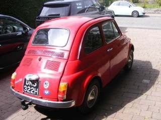 1970 Fiat 500 LHD at Morris Leslie Classic Auction 17th August For Sale by Auction (picture 2 of 6)