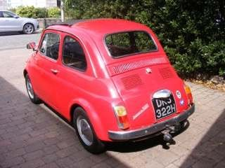 1970 Fiat 500 LHD at Morris Leslie Classic Auction 17th August For Sale by Auction (picture 3 of 6)