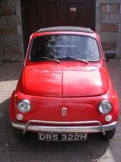 1970 Fiat 500 LHD at Morris Leslie Classic Auction 17th August For Sale by Auction (picture 4 of 6)