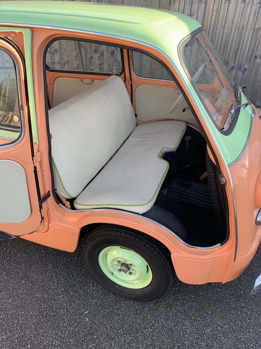 1961 Restored Fiat 600D Multipla For Sale (picture 2 of 6)