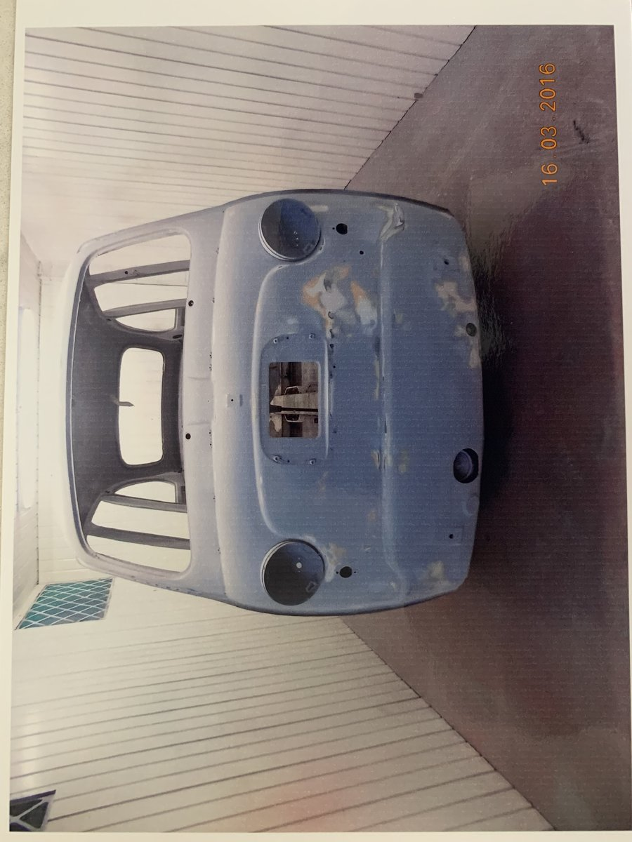 1961 Restored Fiat 600D Multipla For Sale (picture 6 of 6)