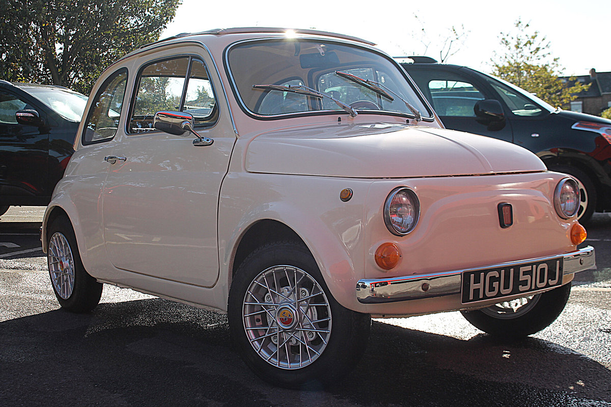 1970 Dry Stored Fiat 500 For Sale (picture 1 of 6)