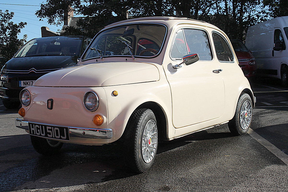 1970 Dry Stored Fiat 500 For Sale (picture 5 of 6)
