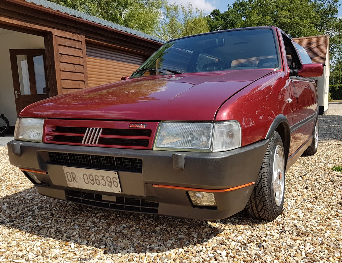 1991 FIAT UNO TURBO - IE RACING - MK2 - LHD - ORIGINAL For Sale (picture 2 of 4)