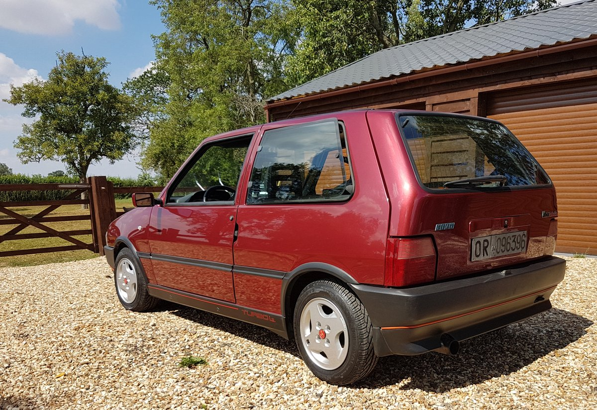 1991 FIAT UNO TURBO - IE RACING - MK2 - LHD - ORIGINAL For Sale (picture 3 of 4)