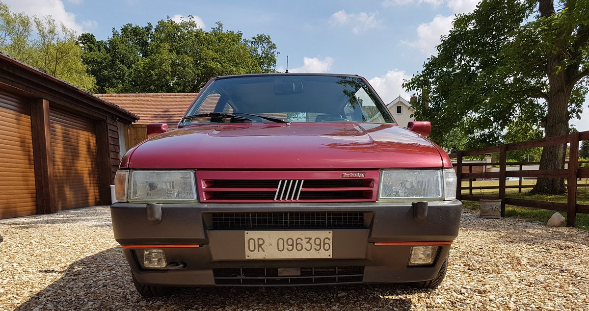 1991 FIAT UNO TURBO - IE RACING - MK2 - LHD - ORIGINAL For Sale (picture 4 of 4)