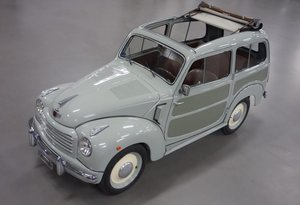 1954 Fiat 500C Topolino Belvedere For Sale