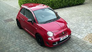 2015 (15) FIAT 595 ABARTH T-JET180 TURBO COMPETIZIONE 3 DR SOLD