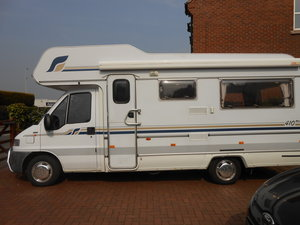1997 Fiat ducato compass drifter 4 berth campervan For Sale