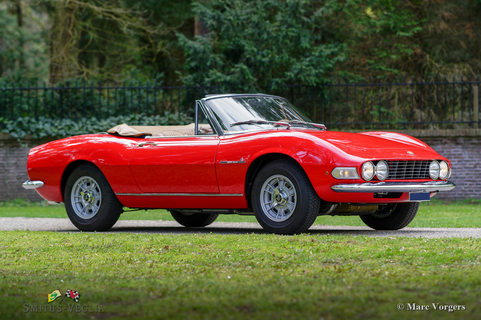 1968 Fiat Dino 2000 Spider in concours condition For Sale (picture 1 of 6)