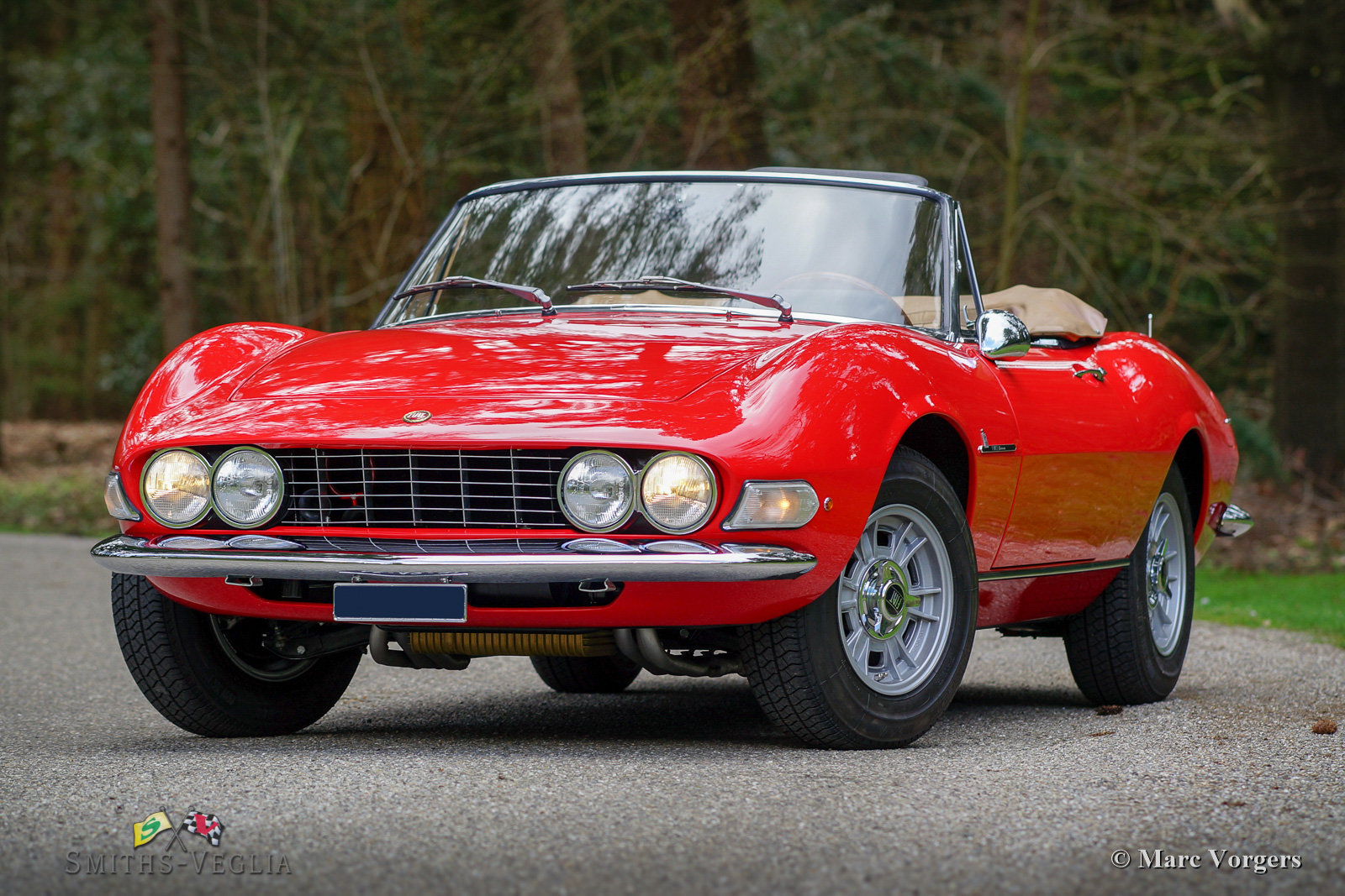1968 Fiat Dino 2000 Spider in concours condition For Sale (picture 3 of 6)