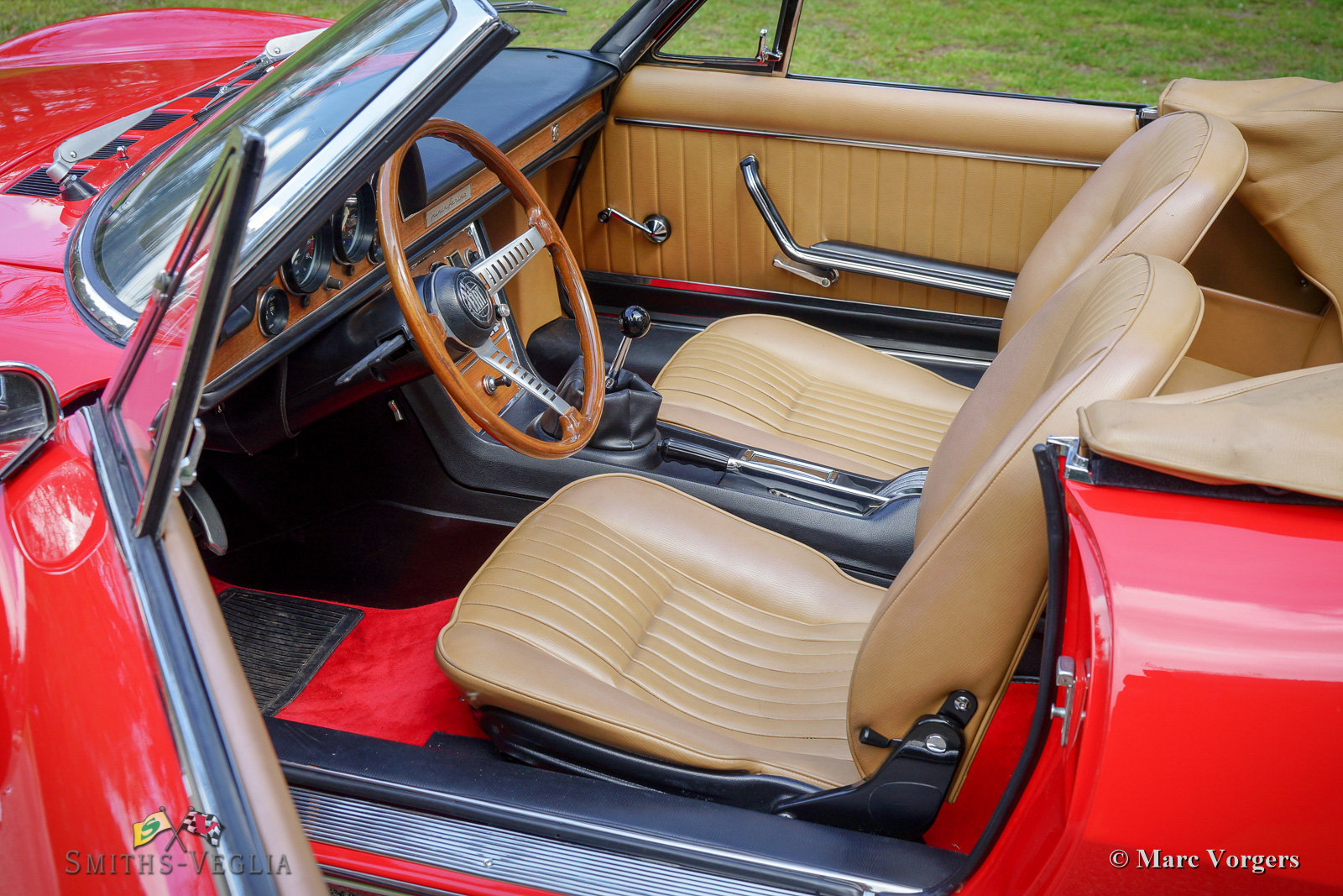1968 Fiat Dino 2000 Spider in concours condition For Sale (picture 4 of 6)