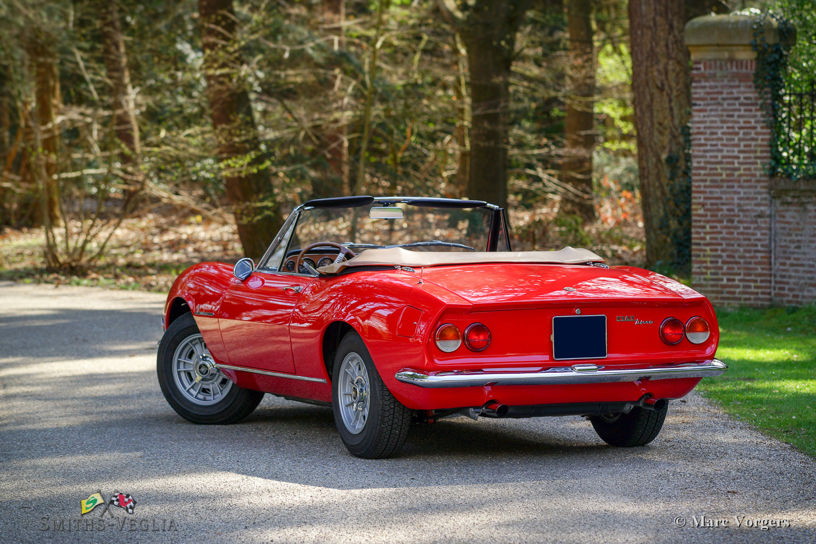 1968 Fiat Dino 2000 Spider in concours condition For Sale (picture 6 of 6)