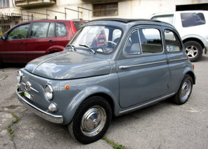 FIAT 500D TRASFORMABILE (1964) - GREAT CONDITIONS For Sale
