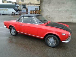 FIAT 124 1.6 BS1 SPORT SPIDER  (1972) 99% RUSTFREE! RESTO!  SOLD