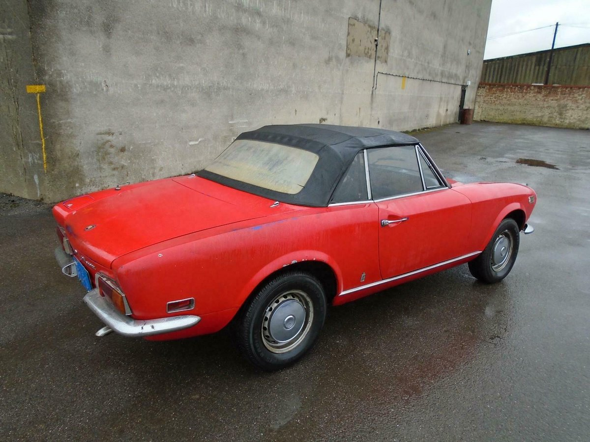 FIAT 124 1.6 BS1 SPORT SPIDER  (1972) 99% RUSTFREE! RESTO!  For Sale (picture 2 of 6)