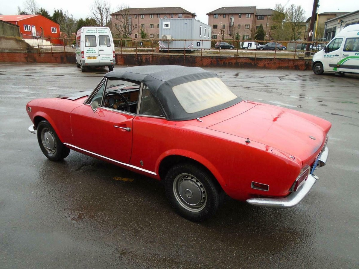 FIAT 124 1.6 BS1 SPORT SPIDER  (1972) 99% RUSTFREE! RESTO!  For Sale (picture 3 of 6)