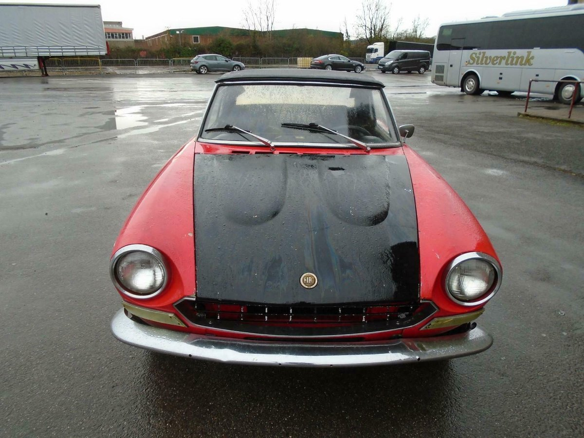 FIAT 124 1.6 BS1 SPORT SPIDER  (1972) 99% RUSTFREE! RESTO!  For Sale (picture 4 of 6)
