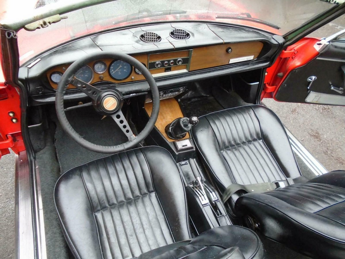 FIAT 124 1.6 BS1 SPORT SPIDER  (1972) 99% RUSTFREE! RESTO!  For Sale (picture 6 of 6)