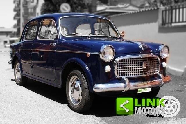 Fiat 1100 Export 1961, Restauro Totale, Iscritta ASI For Sale (picture 1 of 6)