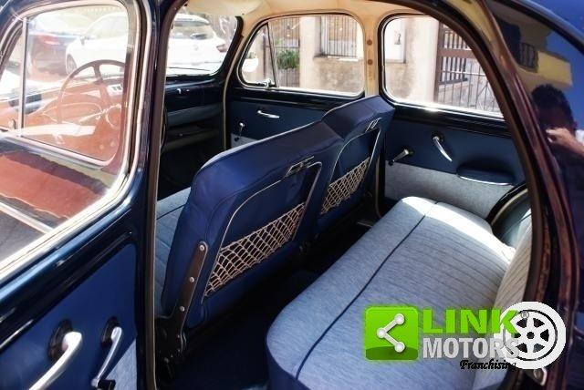 Fiat 1100 Export 1961, Restauro Totale, Iscritta ASI For Sale (picture 5 of 6)