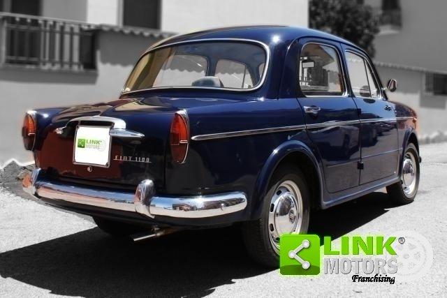 Fiat 1100 Export 1961, Restauro Totale, Iscritta ASI For Sale (picture 6 of 6)