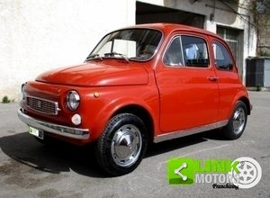 Fiat 500 Francis Lombardi My car (1969) RESTAURO TOTALE For Sale